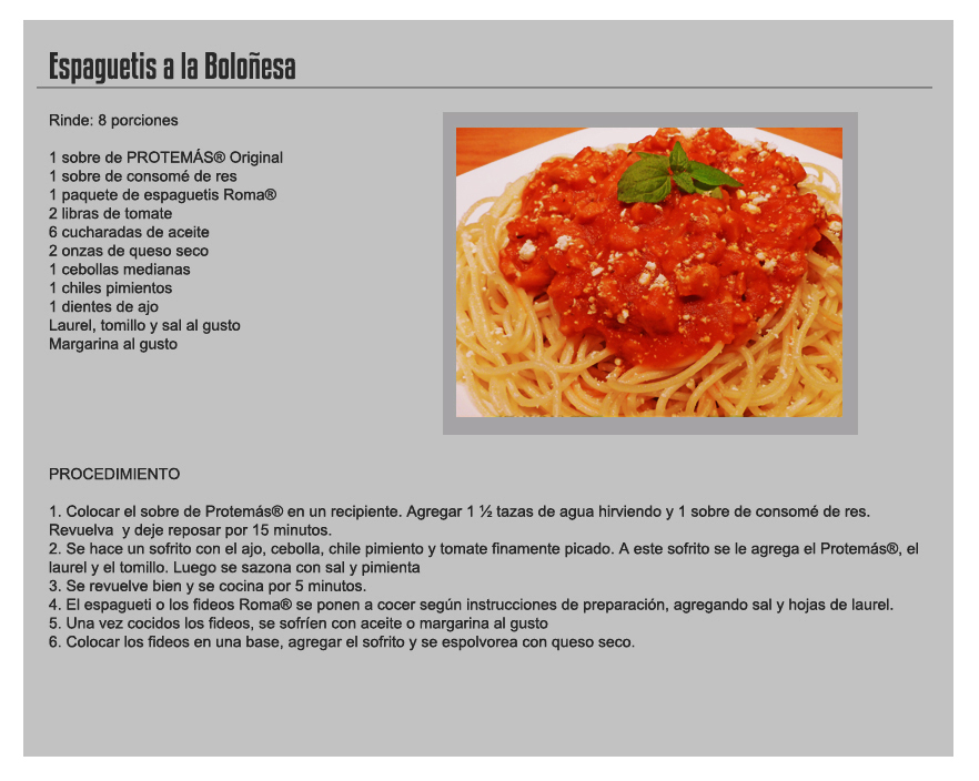 Receta en ingles related keywords receta en ingles long - Comida rapida y sencilla ...